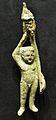 Figura de bronze, possiblement Eros, Llíria, Museu de Prehistòria de València.JPG