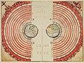 Figura dos corpos celestes, Bartolomeu Velho Volvelle 1568.jpg