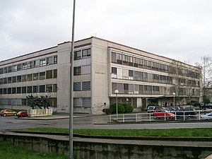 Faculty of Humanities and Social Sciences, University of Zagreb - Faculty building in Zagreb