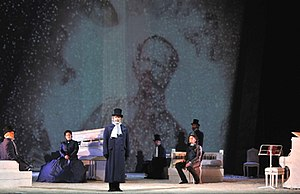 Risorgimento! (opera) - The final scene of the opera Risorgimento!