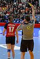 Finale de la coupe de ligue féminine de handball 2013 078.jpg