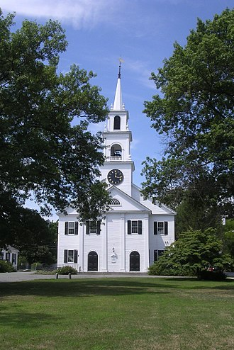 Dedham, Massachusetts - First Church and Parish
