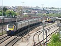First Great Western HST and Virgin Voyager at Bristol Parkway 2006-05-03 01.jpg