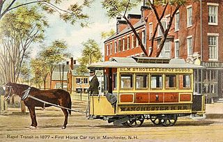 animal-powered tram or streetcar