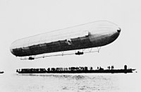 LZ1 at its maiden flight
