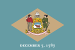 Flag of Delaware (May 10, 1913)