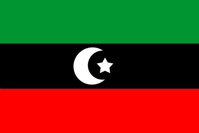 File Flag Of Independent Libya Png Wikimedia Commons
