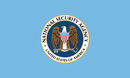 Drapeau de la National Security Agency.