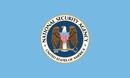 Drapeau de la National Security Agency.