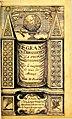 Flamel - Le Grand Éclaircissement de la Pierre Philosophale, 1628 couverture.jpg