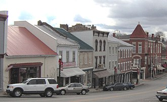 Flemingsburg, Kentucky - Image: Flemingsburg, Kentucky downtown