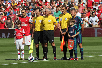 Lee Cattermole - Cattermole (right) posing for a pre-match photo before facing Arsenal in August 2012