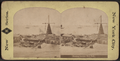 Floating Derrick, New York. (View of Pennsylvania Railroad Emigrant Depot.), from Robert N. Dennis collection of stereoscopic views.png