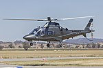 Flyon (VH-ZCF) Agusta A109E Power at Wagga Wagga Airport.jpg