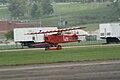 Fokker DVII Ernst Udet Hard Landing 09 Dawn Patrol NMUSAF 26Sept09 (14413493187).jpg