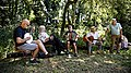 Folk musicians at Copsale Hall, Nuthurst, West Sussex, England 04.jpg