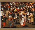 Follower of Pieter Bruegel (I) - Bruiloft met dansende boeren, laatste kwart 16de eeuweerste kwart 17de eeuw.jpg