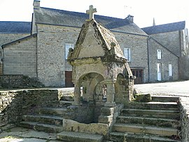 The Fountain of Saint Brieuc, in Cruguel