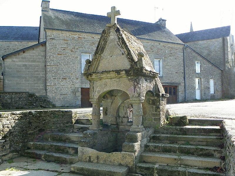 Fontaine St Brieuc à Cruguel département du Morbihan