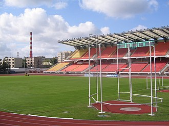Regional Sport Complex Brestsky - Image: Football stadium in Brest panoramio