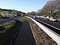 Footpath crossing, A38, Ashburton - geograph.org.uk - 1201352.jpg