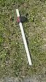 Forŝirita tenilo de aĉetĉaro el superbazaro Karusel en aĉetcentro Goodwin (Tjumeno).jpg
