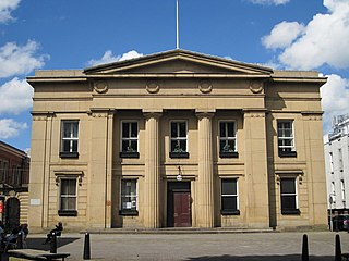Salford Town Hall former town hall of Salford