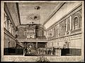 Foundling Hospital, Holborn, London; interior of chapel. Etc Wellcome V0014671.jpg