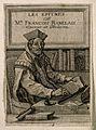 François Rabelais. Line engraving by (F. C.), 1651. Wellcome V0004855.jpg