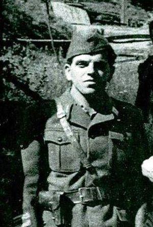 Franc Rozman - A photo of Franc Rozman from 1943