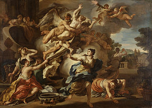 Francesco Solimena - The Abduction of Orithyia