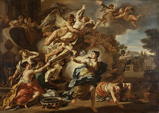 The Abduction of Orithyia