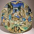 Francesco xanto avelli, piatto con aquila di sesto, urbino, 1532.JPG