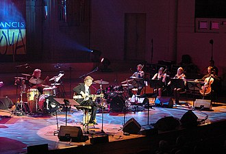 Francis Goya - Francis Goya at a concert in Brussels in 2005
