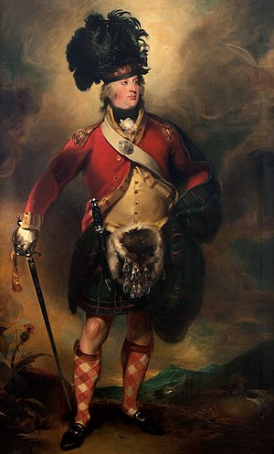 78th (Highlanders) Regiment of Foot - Francis Humberstone MacKenzie, founder of the regiment, by Sir Thomas Lawrence