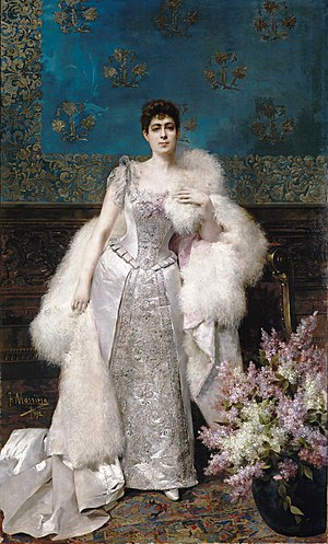 Justo Rufino Barrios - Francisca Aparicio y Auyón, 1892.  Francisca was Barrios wife and after his death, she left Guatemala for New York City, where she enjoyed the large inheritance his husband left after his death.