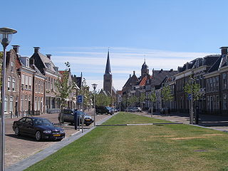 City in Friesland, Netherlands