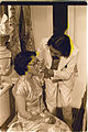 "Frank Chin as ""Fred Eng"" comforts his mother Hyacinth in a scene from The Year of the Dragon, 1978.jpg"