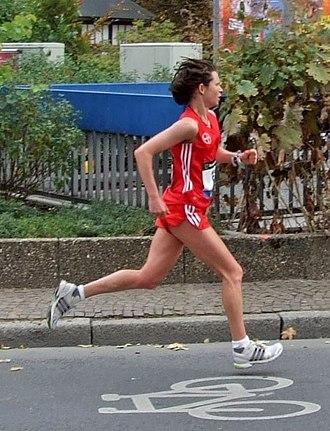 Melanie Kraus - Frankfurt-Marathon 2007