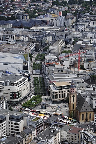 Zeil - Zeil seen from the Main Tower