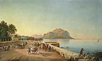 History of Palermo - Palermo in the 19th century