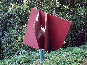 Franz Weissmann - Estrutura em Diagonal (1978) – Parque da Catacumba – Rio de Janeiro