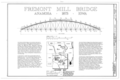 Fremont Mill Bridge, Central Park (moved from Monticello, Jones County), Anamosa, Jones County, IA HAER IOWA,53-ANAM.V,1- (sheet 1 of 3).png