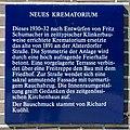 Friedhof Ohlsdorf (Hamburg-Ohlsdorf).Neues Krematorium.Tafel.29622.ajb.jpg