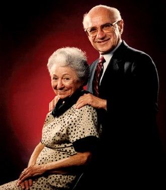 Rose Friedman - Friedman with her husband Milton Friedman
