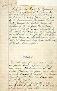 Treaty of Bosque Redondo