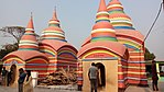 Front view of Chondimura temple, Comilla district, Bangladesh.jpg