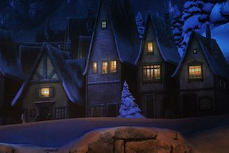 Frozen Ever After - A scene from the ride