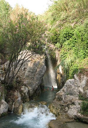 Callosa d'en Sarrià - Waterfall in the Algar Waterfalls