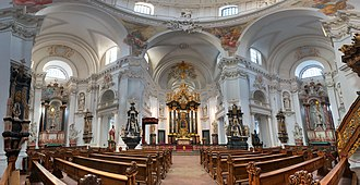 Fulda Cathedral - View towards the high altar